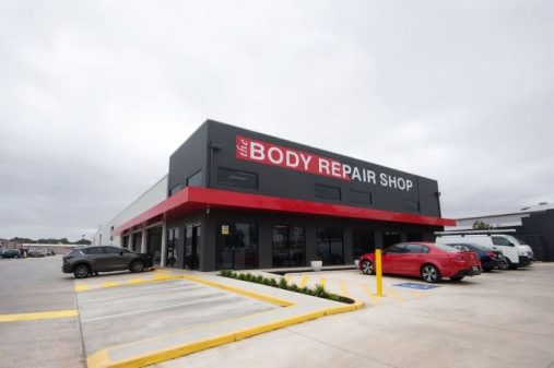 body repair shop front